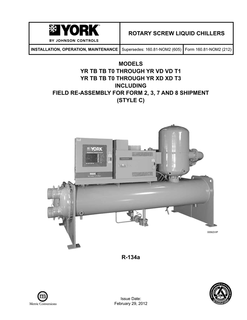 hight resolution of  york yr specifications manualzz com air compressor wiring diagram johnson controls phas on