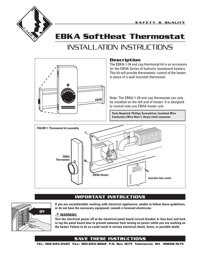 medium resolution of ebka softheat thermostat