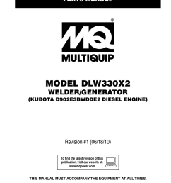 dlw330x2 rev 1 parts multiquip service support center [ 791 x 1024 Pixel ]