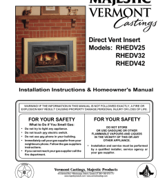 vermont castings rhe32 operating instructions [ 791 x 1024 Pixel ]