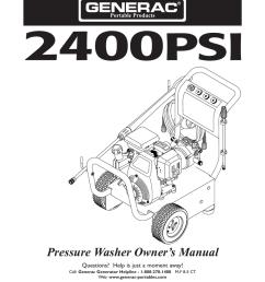 craftsman 4 0 gpm honda powered pressure washer owner s manual [ 791 x 1024 Pixel ]