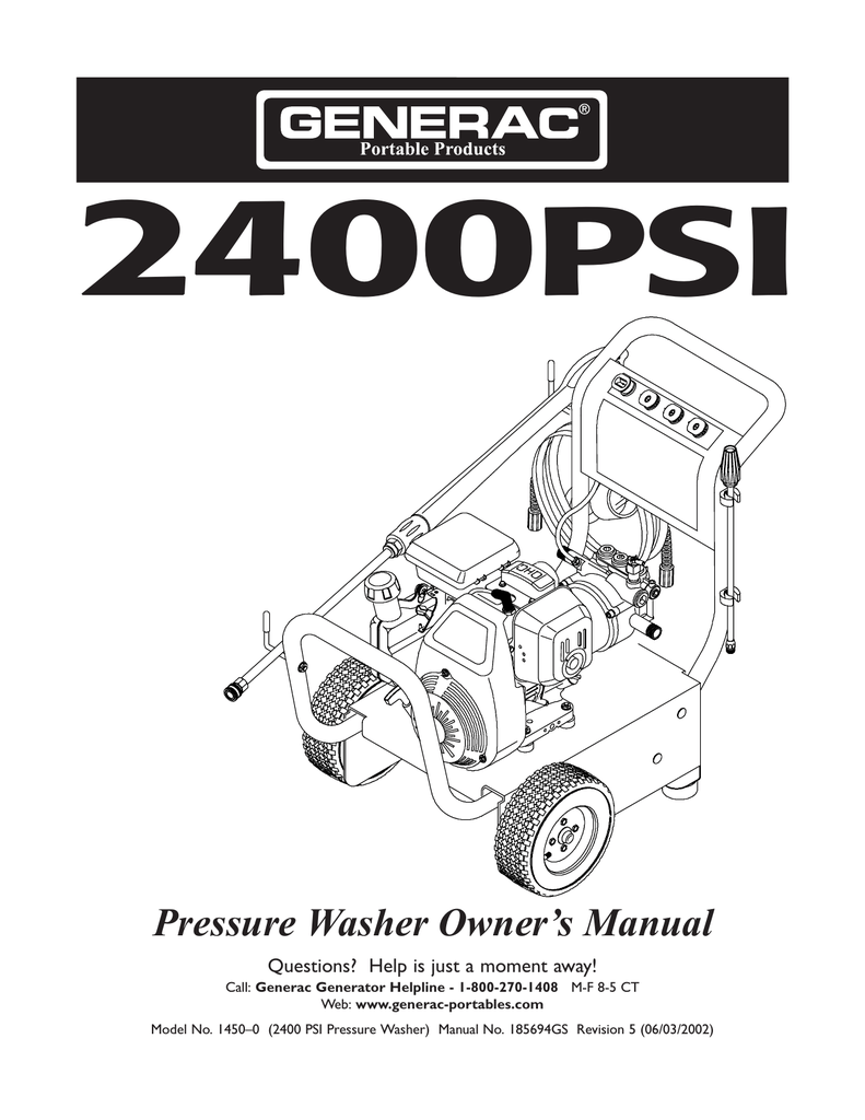 hight resolution of craftsman 4 0 gpm honda powered pressure washer owner s manual