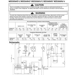 maytag msd2656kes 26 cu ft refrigerator technical information [ 791 x 1024 Pixel ]