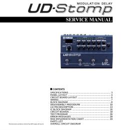 yamaha ud stomp service manual [ 785 x 1024 Pixel ]
