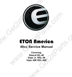 e ton viper 40e rxl 40e service manual manualzz cometon viper jr 40cc ignition [ 791 x 1024 Pixel ]