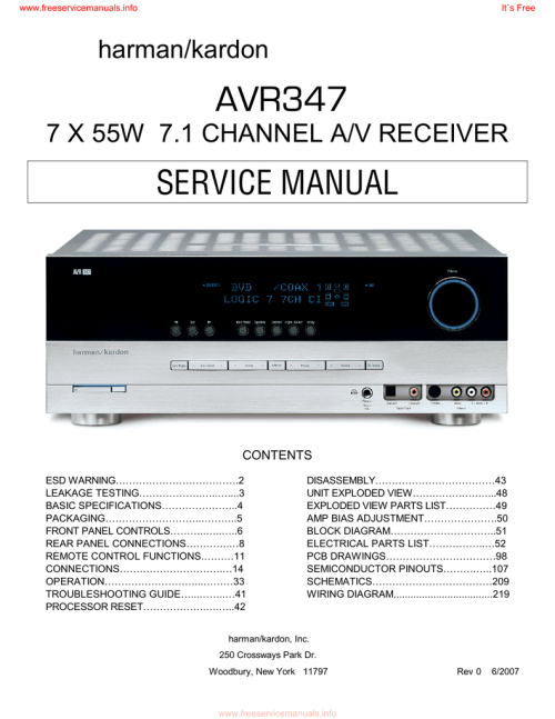 small resolution of audiovox aa 939 service manual