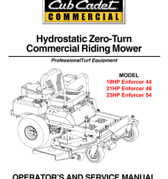 cub cadet 21hp enforcer 48 service manual manualzz com diagrams cub cadet fuse location cub cadet decals cub cadet wiring [ 791 x 1024 Pixel ]
