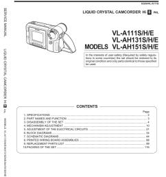 camcorder wiring schematic [ 787 x 1024 Pixel ]