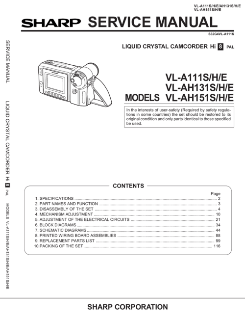 small resolution of camcorder wiring schematic