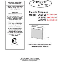 vermont castings vcef36 operating instructions [ 791 x 1024 Pixel ]