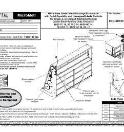 honeywell jade economizer wiring diagram [ 1024 x 791 Pixel ]