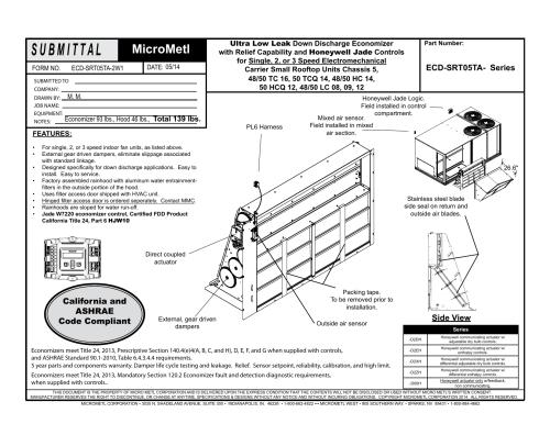 small resolution of honeywell jade economizer wiring diagram