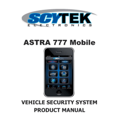 scytek electronic astra 777 mobile product manual astra 777 mobile vehicle security  [ 791 x 1024 Pixel ]