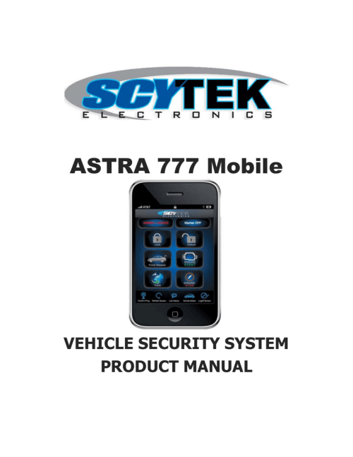 small resolution of scytek electronic astra 777 mobile product manual astra 777 mobile vehicle security