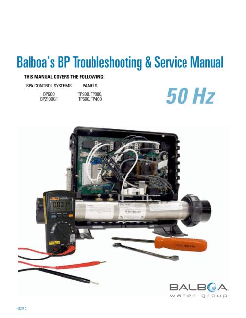 small resolution of  balboa water group 2406 service manual manualzz com on balboa control diagram balboa