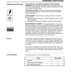 simplex 4004 instruction manual [ 791 x 1024 Pixel ]