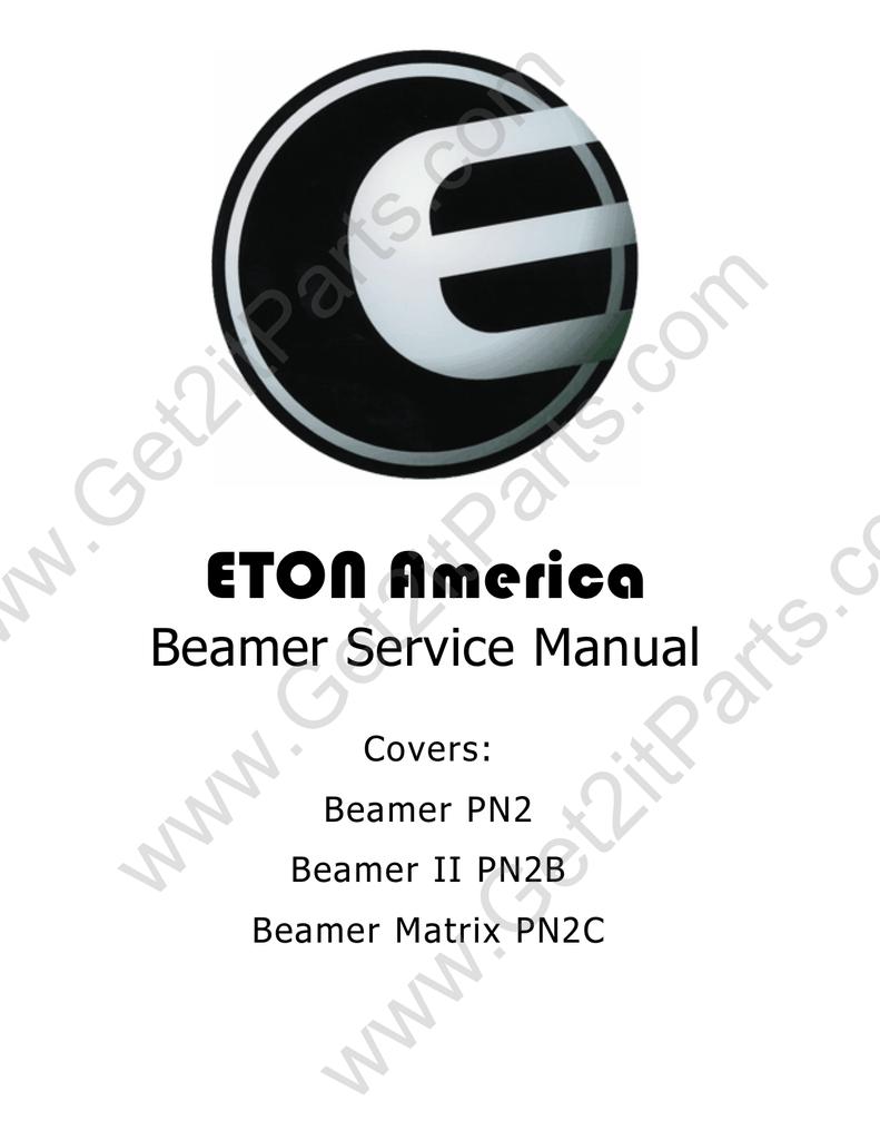 medium resolution of e ton beamer service manual manualzz com eton beamer wiring diagram