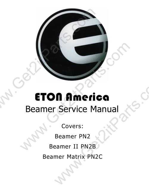 small resolution of e ton beamer service manual manualzz com eton beamer wiring diagram