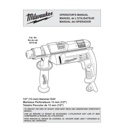milwaukee 5374 20 operator s manual [ 1024 x 791 Pixel ]