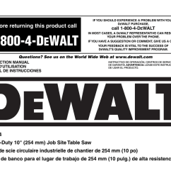 dewalt dw744 instruction manual [ 1024 x 784 Pixel ]