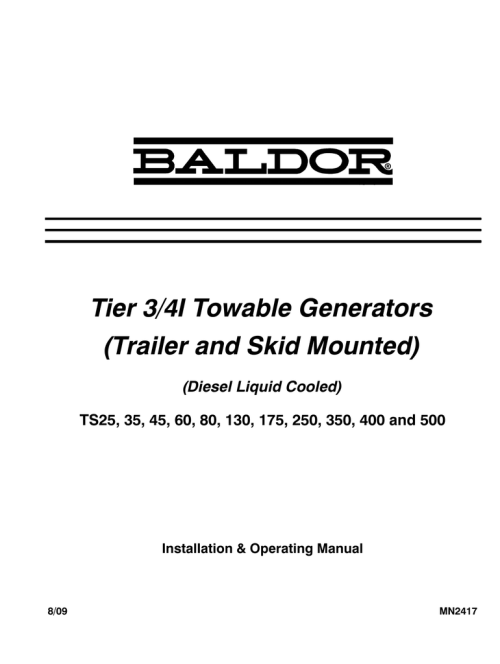 small resolution of baldor ts35 owner s manual