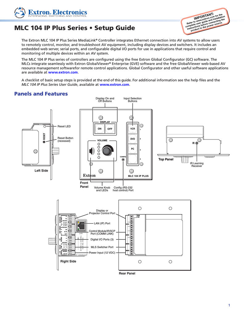 medium resolution of epson medialink controller mlc 104 ip plus setup guide