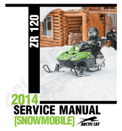 arctic cat zr 120 service manual [ 791 x 1024 Pixel ]