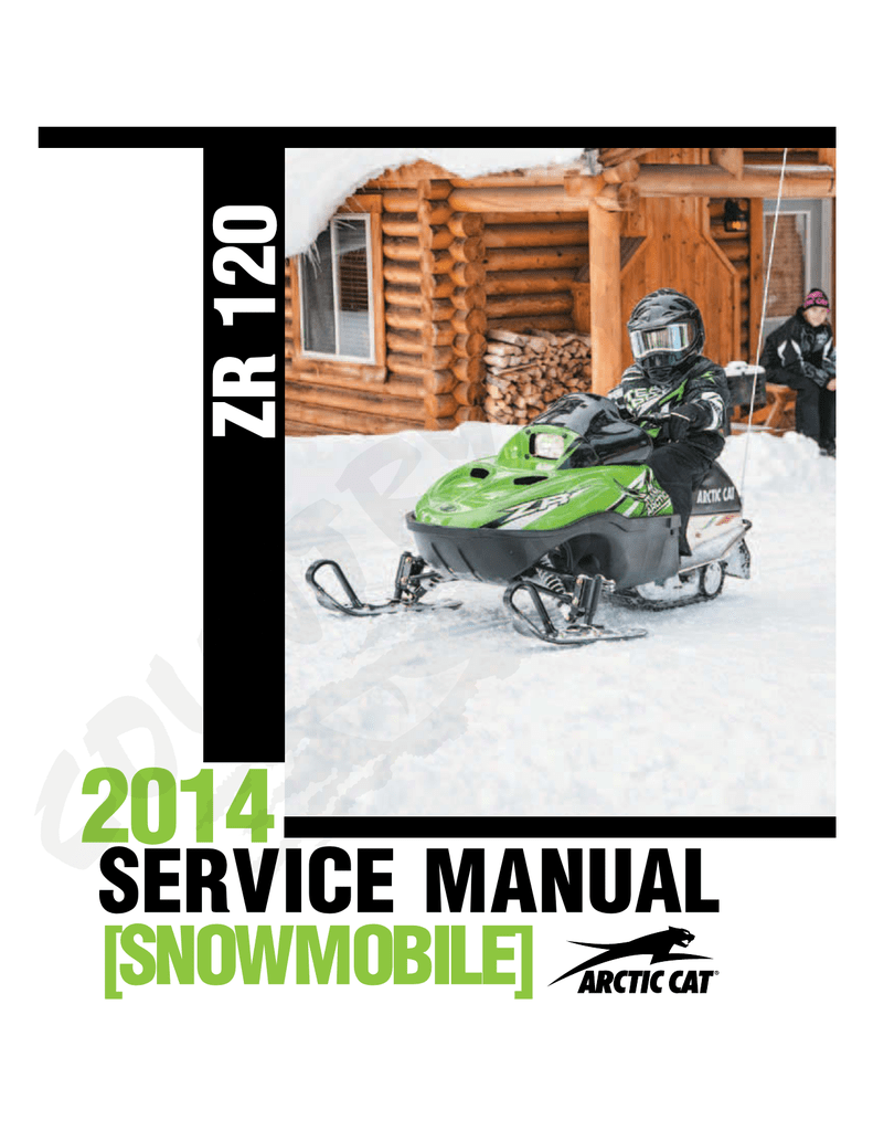 hight resolution of arctic cat zr 120 service manual