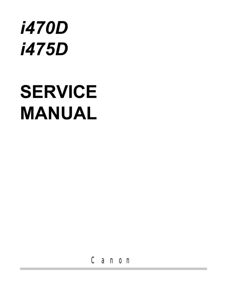 CANON I470D MANUAL PDF