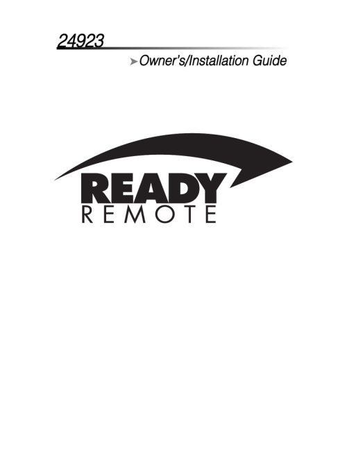 small resolution of directed electronics ready remote 24923 installation guide