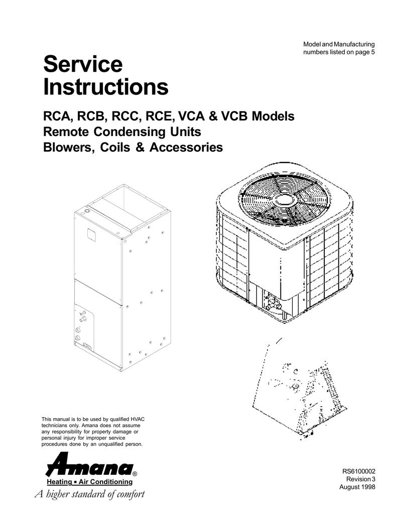 medium resolution of amana c model specifications manualzz comamana c model specifications