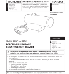 mr heater 170favt operating instructions manualzz com mr buddy heater parts schematic labeled mr heater [ 791 x 1024 Pixel ]