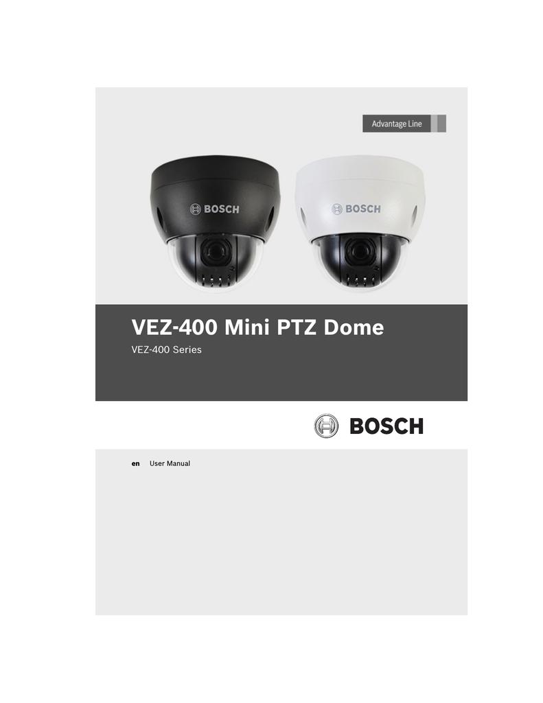 medium resolution of bosch vez 400 series user manual