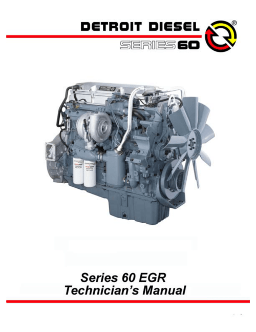 small resolution of detroit diesel 60 egr series troubleshooting guide
