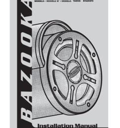 bazooka bt1014 wire harness [ 791 x 1024 Pixel ]