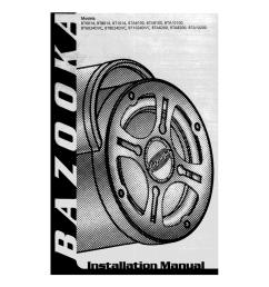 bazooka bt1014 specifications manualzz combazooka bt1014 wire harness 7 [ 791 x 1024 Pixel ]