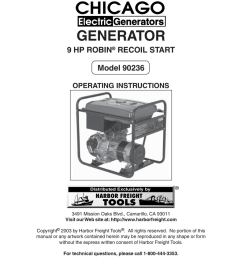 chicago electric 90236 operating instructions [ 791 x 1024 Pixel ]