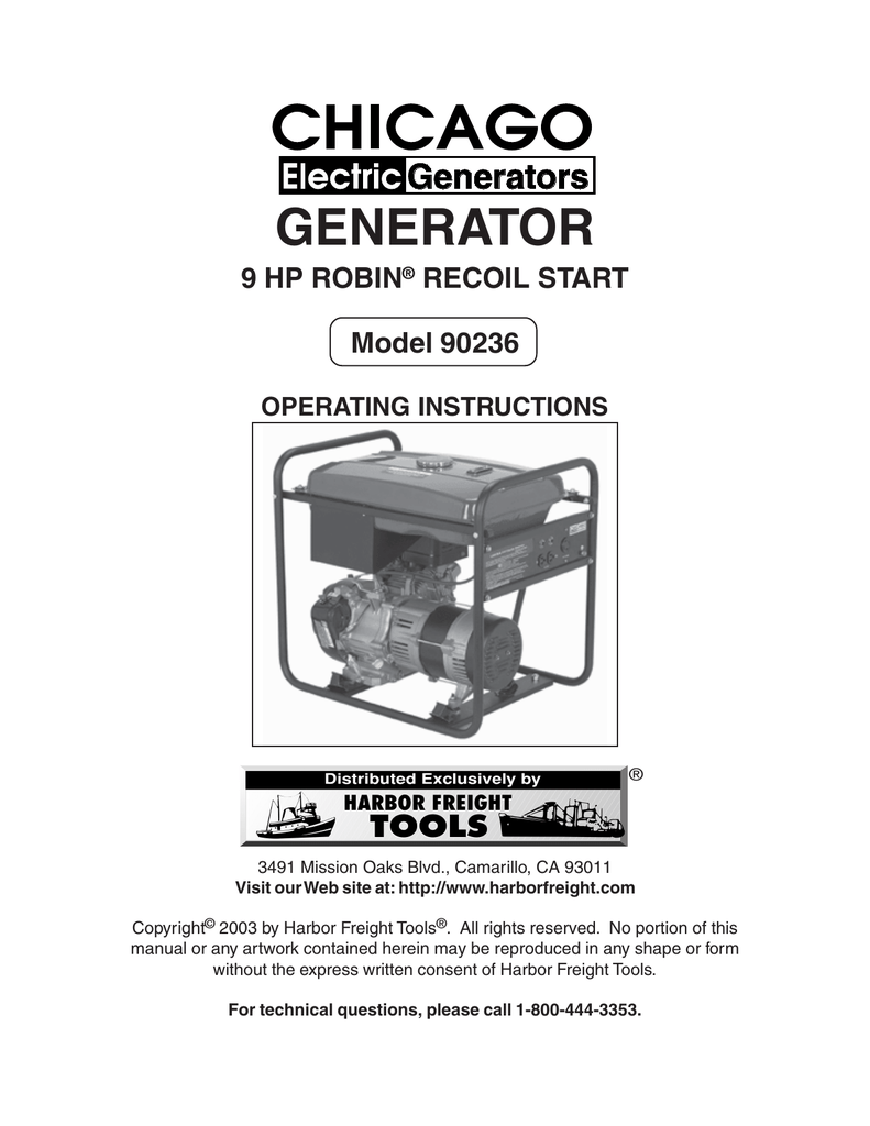 hight resolution of chicago electric 90236 operating instructions