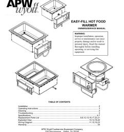 apw wyott hfw 12d service manual manualzz com [ 791 x 1024 Pixel ]
