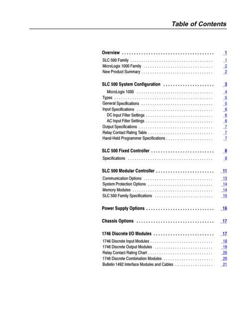small resolution of allen bradley slc 500 1747 l511 specifications