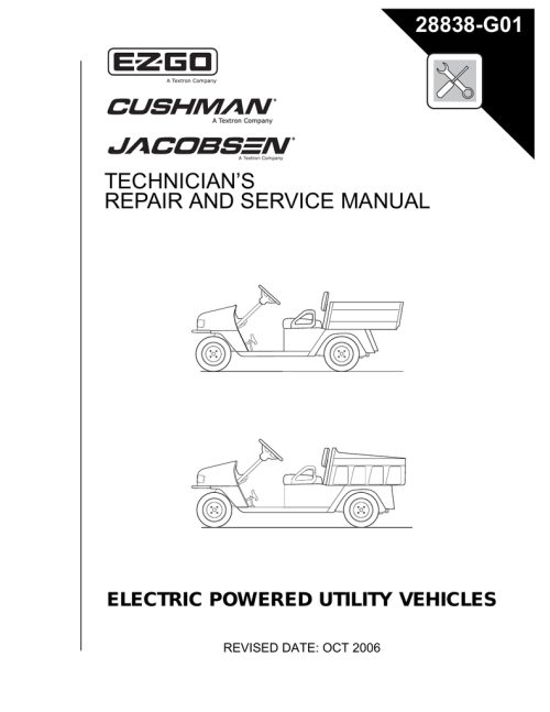 small resolution of e z go terrain 1000 gas service manual manualzz com ez go drivetrain diagram