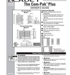 cadet the com pak plus troubleshooting guide [ 791 x 1024 Pixel ]