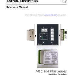 epson medialink controller mlc 104 ip plus operating instructions [ 791 x 1024 Pixel ]