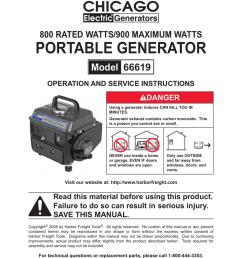 chicago electric generator wiring diagram [ 791 x 1024 Pixel ]