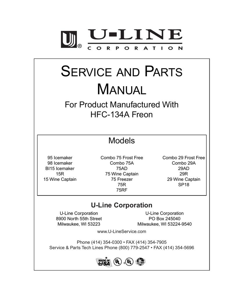 hight resolution of u line 29r service manual manualzz com uline ice maker wiring diagram