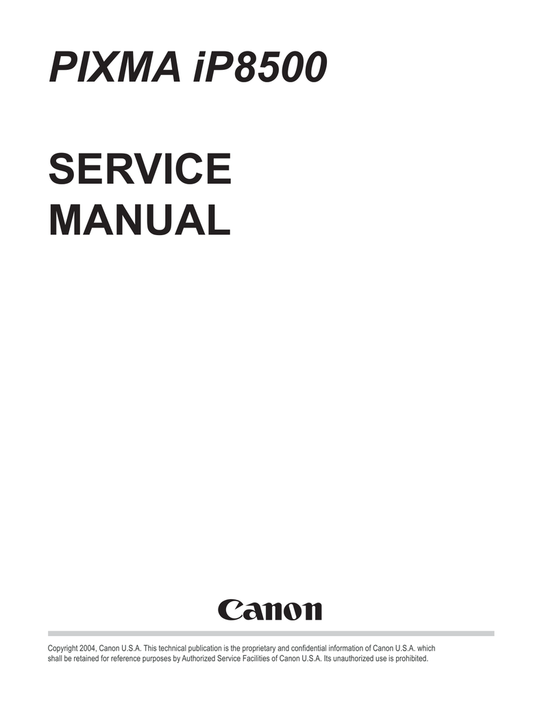 CANON IP8500 MANUAL PDF