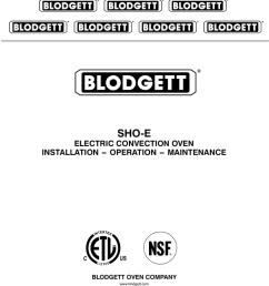 blodgett sho e single specifications [ 791 x 1024 Pixel ]