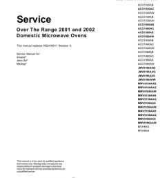 maytag mmv5156aab service manual [ 791 x 1024 Pixel ]
