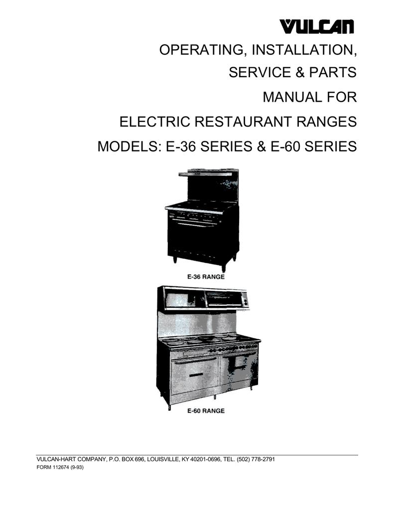 hight resolution of vulcan hart fb series operating instructions manualzz com vulcan flat top wiring diagrams