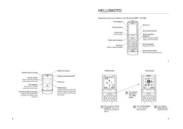 Principales atractivos. Motorola RAZR V3i, MOTORAZR V3i